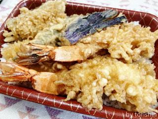 寿司割烹『田川』の天丼でテイクアウトランチ #茨城エール飯